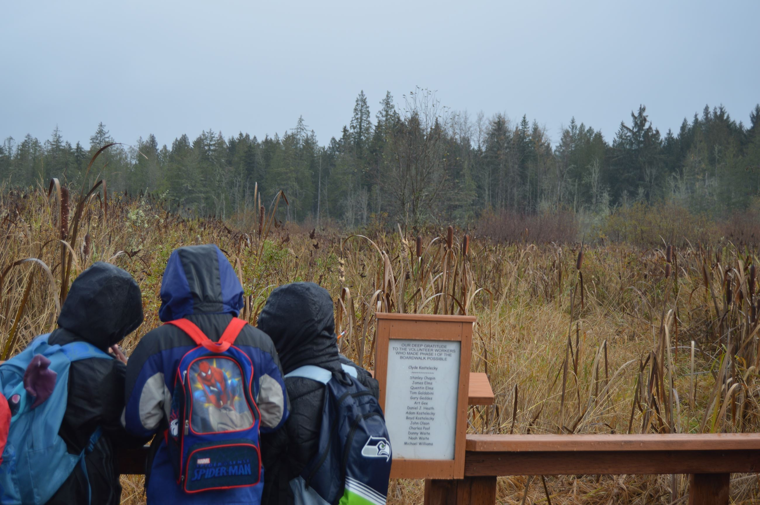 EE field trip to Morse Preserve