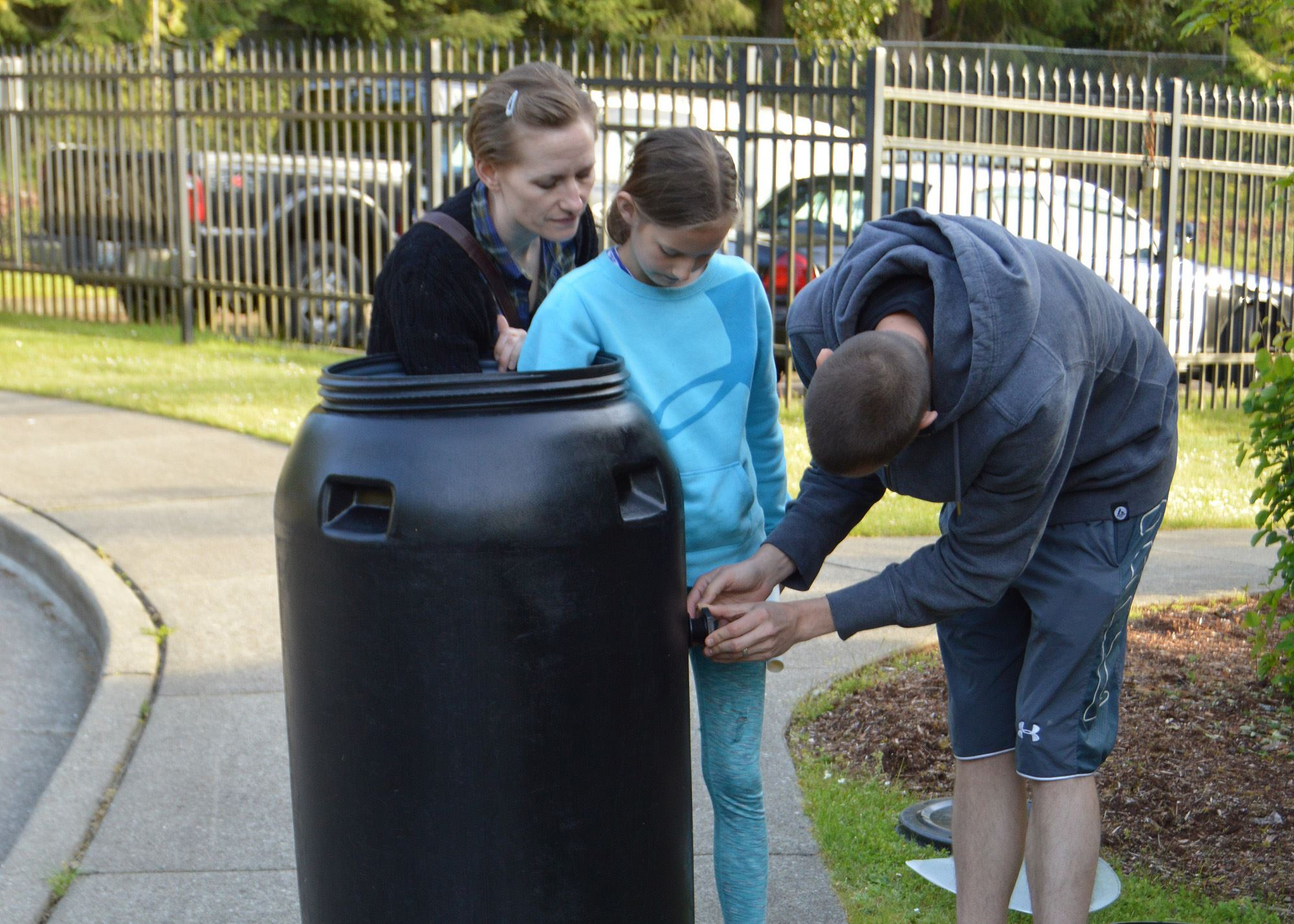 GH Rain Barrel Photo