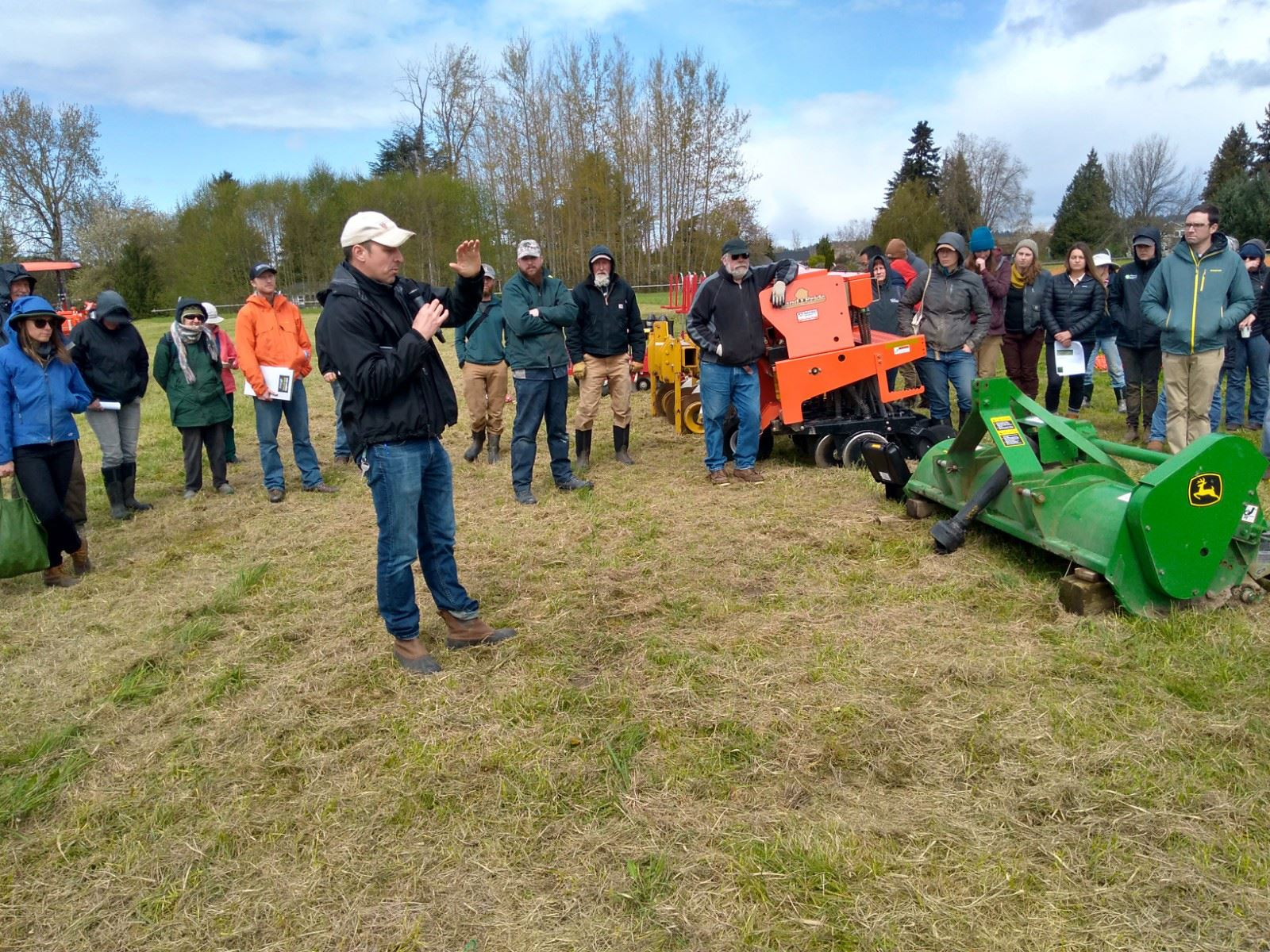 Direct Seed Drill Workshop