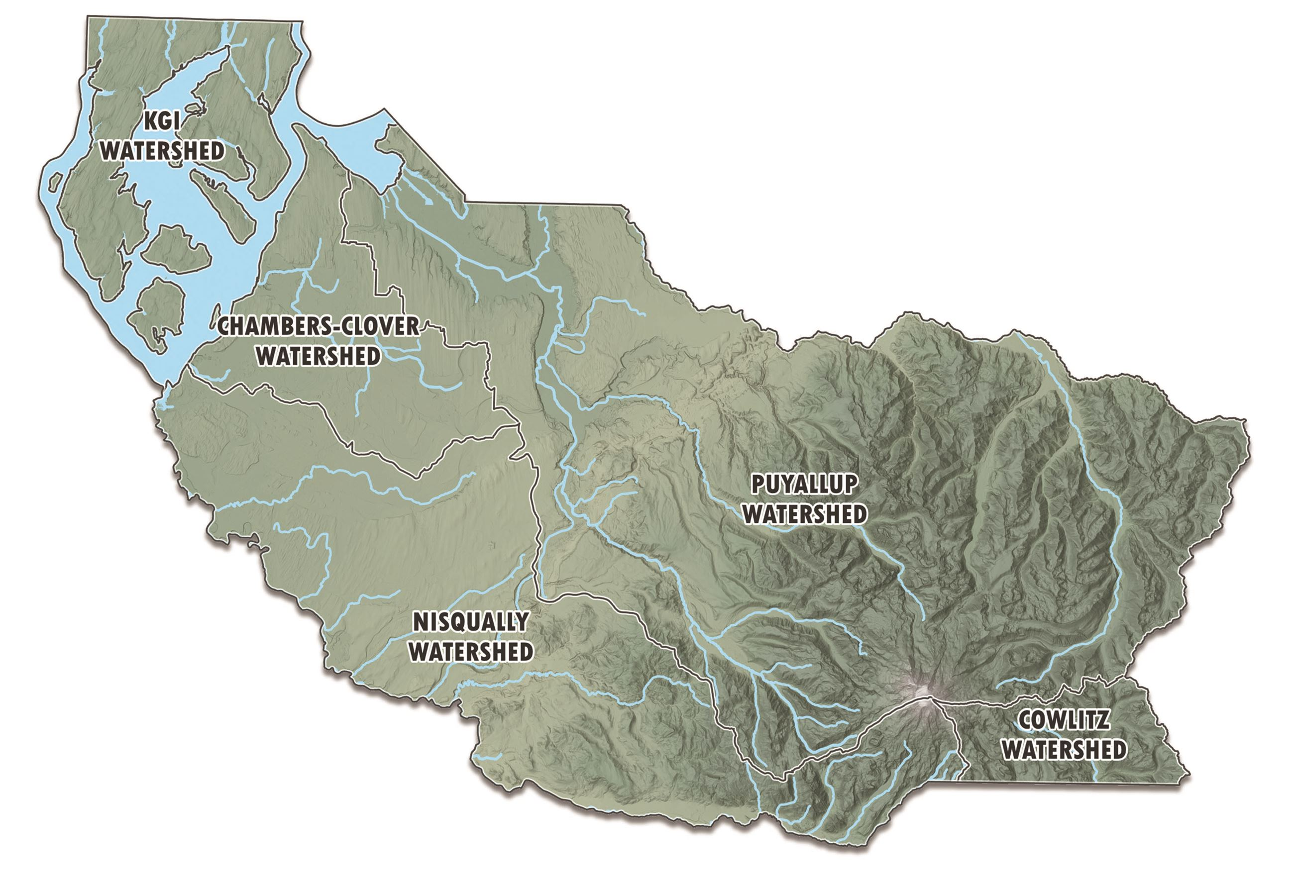 Updated Watersheds Map