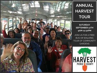 Harvest Tour Flyer