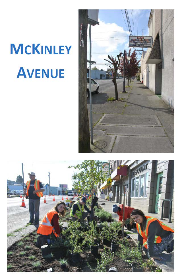 McKinley Ave Depave
