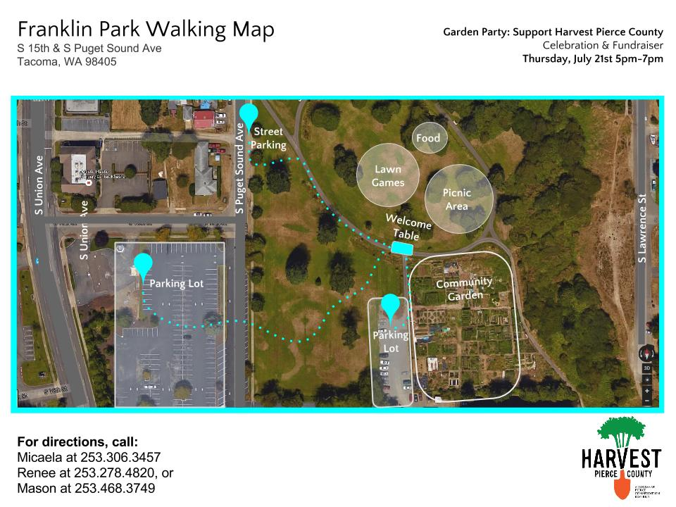Franklin Park Walking Map